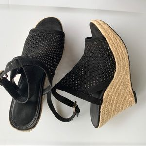 Guess Espadrille Heels Ankle Strap 9 1/2M